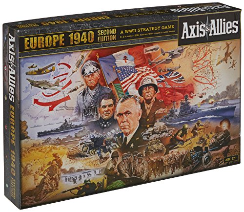 Avalon Hill / Wizards of the Coast A06270000 - Axis und Allies, Europe 1940 2nd Edition, Brettspiel
