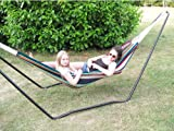 Best Hammock With Stands - Ultracamp Spinel Double Swinging Hammock on Metal St Review