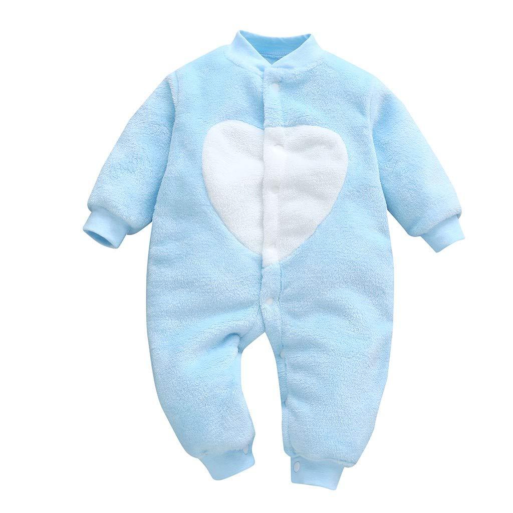Subfamily Ropa de una Pieza para bebés niño, Bebé recién Nacido bebés niñas niños Amor corazón Imprimir Mono Romper Ropa