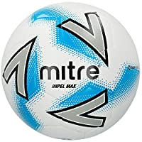 Mitre Impel Training Football Without Ball Pump, White, Size 5