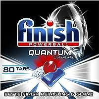 Finish Quantum Ultimate Spülmaschinentabs – Geschirrspültabs mit 3-fach Wirkung – Kraftvolle Reinigung, Fettlösekraft…