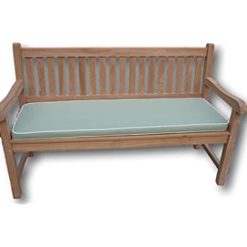 Luxury 4 Seater Garden Bench Cushion with Premium Fabric /& Filling 1.7m // 5.6ft Olive Green