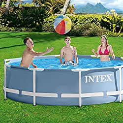 Intex - Piscina de marco de metal (Intex 56996FR) [versión italiana]