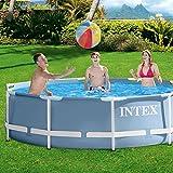 Intex–Swimming-Pool mit Metallrahmen 56996FR [Italienische Version].