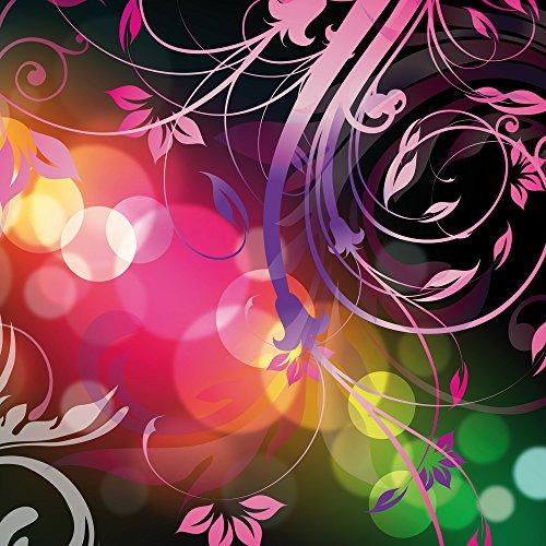 Apple iPhone 5s Housse étui coque protection Fleurs Fleurs couleurs Sideflip Sac