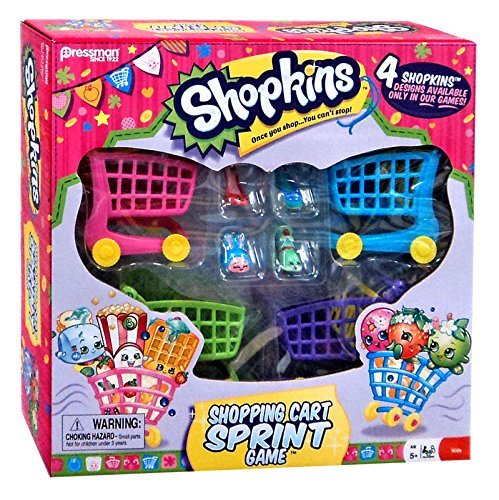 Shopkins Shopping Cart Sprint Game (Shopping Shopkins Für)