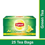 Lipton Lemon Zest Green Tea Bags, 25 Pieces