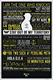 Grupo Erik PP33286 Poster Breaking Bad- Typographic, carta, Multicolore,  91 x 61,5 x 0,1 cm
