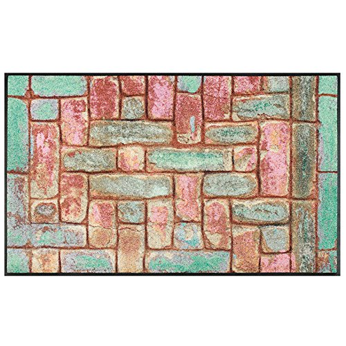 Wash+Dry Tapis, Surface en Polyamide, Coloré, 75 x 120 cm