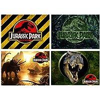 Set 4 Tovagliette Jurassic Park