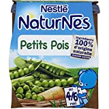 NESTLE NATURNES Petits Pots Bébé Petits Pois -2x130g -Dès 4/6 mois