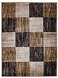 Paris Echter Hit! Moderner Teppich in unterschiedlichen Mustern. Spitzenqualität! (120cmx170cm)