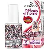 5 x Essence Gel Nails At Home / Efecto gel / cada capa superior 7 ml / 5 estilos diferentes