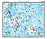 General-Karte von Australien und der Südsee, 1903 [gerollt]: Carl Flemmings Generalkarte, No. 42