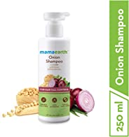 Mamaearth Onion Hair Fall Shampoo for Hair Growth & Hair Fall Control, with Onion Oil & Plant Keratin 250ml