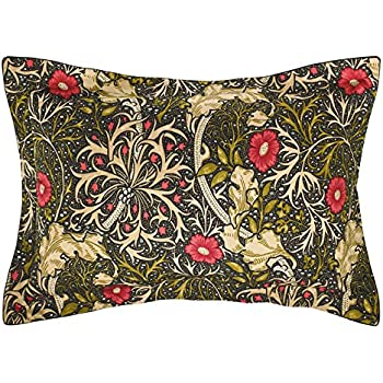 50feaad572a Morris   Co DUCMSWBOBLK Morris Seaweed Oxford Pillowcase