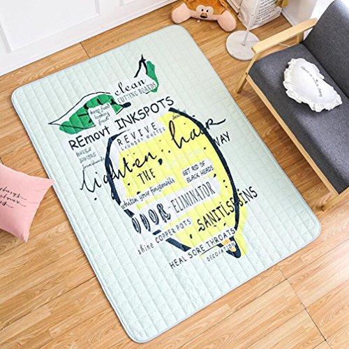 Picknick-Matten-Baby-Kriechende Matten-Kind-Spiel-Auflage-Decke Spielzeug-Spiel-Matten-Teppich Tragen Innenaußenwolldecke,#6,145*200CM