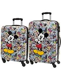 Disney Mickey Comic Juego de Maletas, 97 Litros, Color Varios Colores