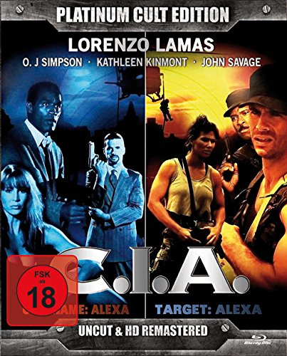 C.I.A. (2 Blu-Rays: Codename: Alexa - Target: Alexa / Codename Viper) - Platinum Cult Edition - limitierte Auflage!!