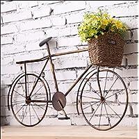 Vintage de hierro de la pared de la bicicleta Creative Creative pared tridimensional Bike colgante de