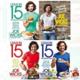 Joe Wicks Collection 4 Books Set With Gift Journal (Cooking for Family and Friends: 100 Lean Recipes to Enjoy Together [Hardcover], Lean in 15 - The Shift Plan: 15 Minute Meals and Workouts to Keep You Lean and Healthy, Lean in 15 - The Sustain Plan: 15 Minute Meals and Workouts to Get You Lean for Life, Lean in 15 - The Shape Plan: 15 Minute Meals With Workouts to Build a Strong, Lean Body)