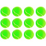 Goldiluxe Light Weight Cricket Tennis Ball (Pack of 12)