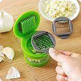Best Deals - Garlic Press Chopper Slicer Hand Presser Grinder Crusher Practical Kitchen Tools
