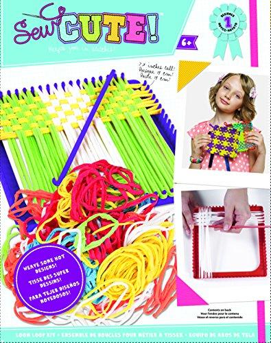 Unbekannt Colorbok verschiedenen Sie Design It Weben Loom Kit