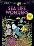 Sea Life Wonders Coloring Book: Amazi...
