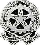 PIN SPILLA REPUBBLICA ITALIANA STEMMA LOGO 18 mm.