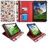 LG G Pad X 8.3 Tablette Plusieurs Animal Universel 360° Rotation Étui Coque Housse avec Fentes de Cartes ( 7 - 8 Pouces ) de Sweet Tech