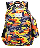 Best Skip Hop Backpacks For Toddlers - NAITUO Kid Child Camouflage Backpack Primary School Multi-Compartment Review