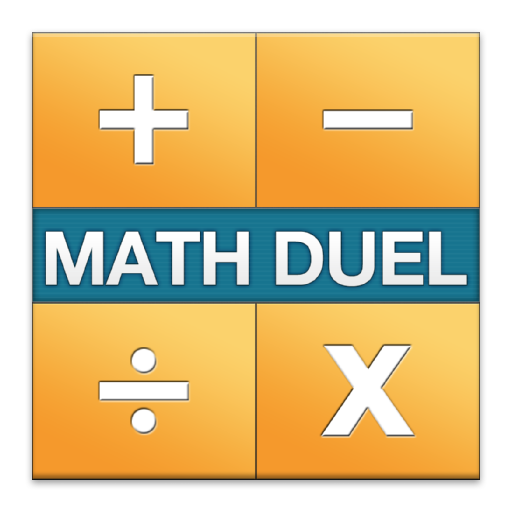 Math Duel - Two Player Split Screen Mathematical Game for Kids and Adult Brain Training - Addition, Subtraction, Multiplication and Division! 4-way Screen