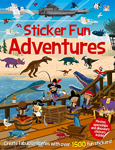 Sticker Fun Adventures: Create Scenes with Over 1500 Stickers (Sticker Fun Books)