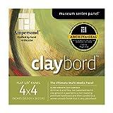 Ampersand Claybord 1/8 pulgada 4X4 Pk / 4