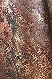 NEWROOM Tapete Bronze Putz Beton Bauhaus Vliestapete Braun Vlies moderne Design Optik Tapete Struktur Premium Industrial inkl. Tapezier Ratgeber