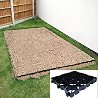 7ft x 3ft Shed Base - 21 x TruePave Environmentally Friendly Plastic Paving Grids Slabs Pavers