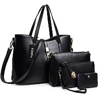 TIBES Handtaschen damen Handtasche mädchen Weiche handtasche Taschen damen set Beutel Top handle bags Tragetaschen…