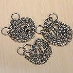 Kungfu Mall Pet Strong Steel Metal Training Pet Choker Chain Collar (S) 7