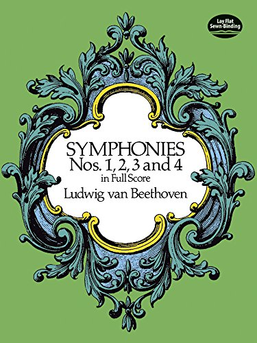 Symphonies 1, 2, 3, & 4 (Full Score): Partitur für Orchester (Dover Music Scores)