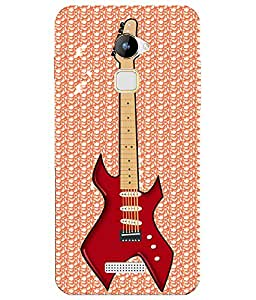 HICOVERS Electric Guitar Printed Silicone Case for Coolpad Note 3 Lite