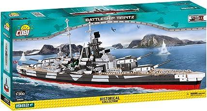 Historische Sammlung Cobi 4809 / Battleship TIRPITZ 1982 Bausteine