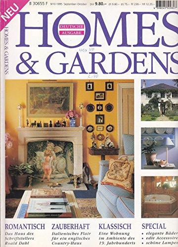 Homes & Gardens - 9/10/1995 - Anglo-Italienisches Haus, Biedermeier-Wohnung, Bäder, Lampen