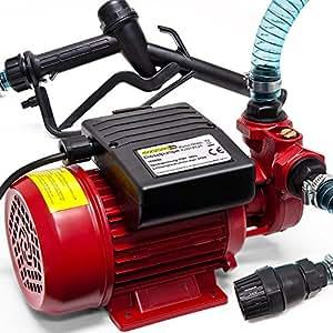 230 V Pompe de transfert de fluides huile Diesel-Pompe d'extraction pour huile changement kit pistole 40 L/min