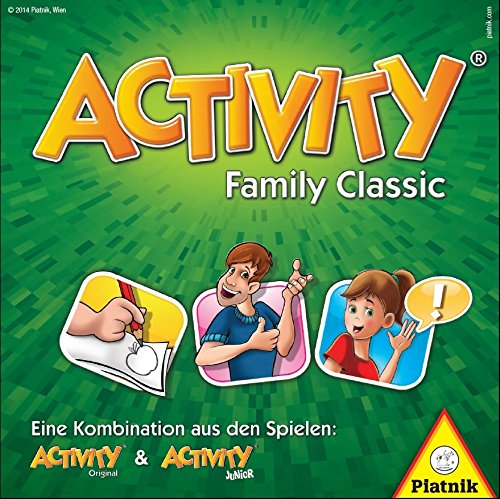 Piatnik 9001890605079 – Activity Family Classic Brettspiel