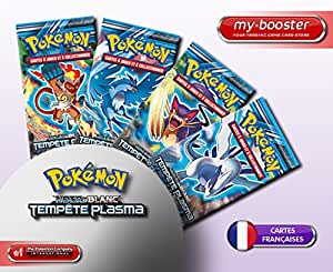 9x Booster Pokemon Noir & Blanc Glaciation Plasma Francais