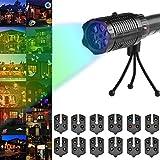 [Projektionslampe LED Weihnachtsbeleuchtung] Schneeflocken Lichter Gartenlicht für Weihnachten Wasserdichte IP44 Außenbeleuchtung Weihnachten Dekoration Projektor