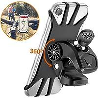 Cocoda Support Téléphone Vélo, Support Moto de Guidon Universel Rotatif à 360 Degrés Anti-Vibrations en Silicone…