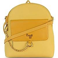 Baggit Backpack Bag (Yellow)
