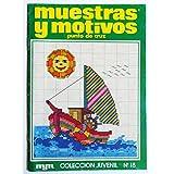 REVISTA MUESTRAS Y MOTIVOS PUNTO DE CRUZ / MYM EDICIONES Nº15, 1983.